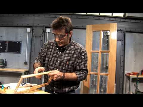 Sustituir el cristal de una puerta (Bricocrack)