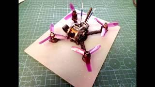 Квадрокоптер 139мм 3 дюйма пропы