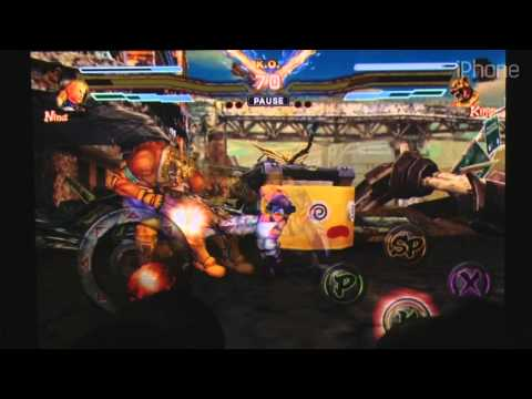 Street Fighter X Tekken IOS