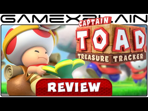 Captain Toad: Treasure Tracker - Video Review (Wii U) - YouTube video thumbnail