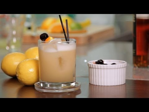 How to Make a Whiskey Sour | Cocktail Recipes