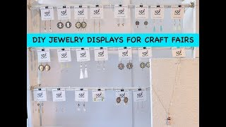 DIY JEWELRY DISPLAYS FOR CRAFT FAIRS