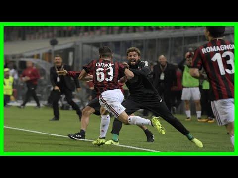 [2018 NEWS]AC Milan: Italian giants banned from European football for one season