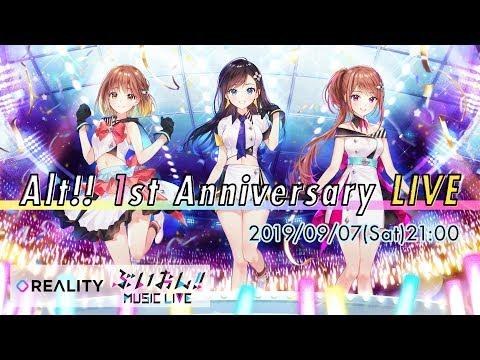 Alt!! 1st Anniversary LIVE @ぶいおん!! MUSIC LIVE