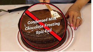 chocolate frosting recipe no evaporated milk
