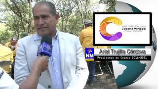 Estoy comprometido en tener un pueblo limpio: Ariel Trujillo Córdova