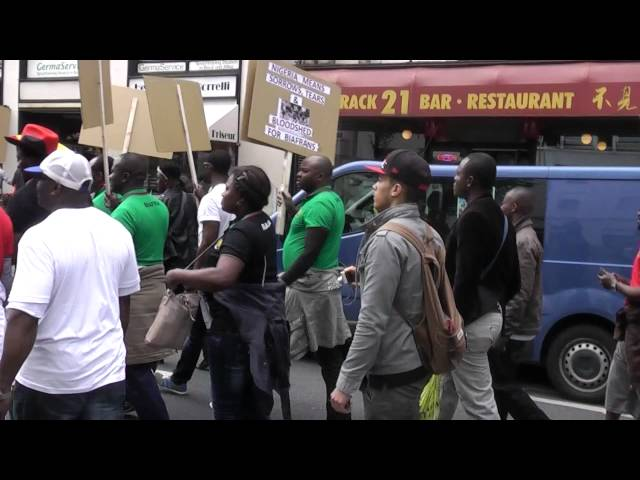 Biafrans in Germany/Düsseldorf Nr.2