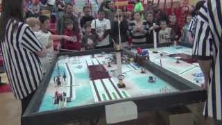 A Day in a First Lego League Competition - 2012 Senior Solutions