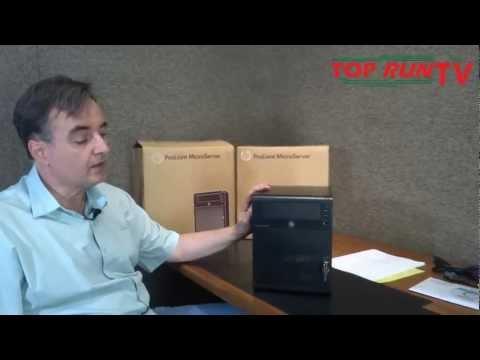 Unboxing - Servidor HP - Proliant Micro G7 N40L