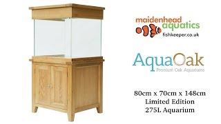 Aqua Oak 'XL Cube' Aquarium *Limited Edition* (AQ80C)