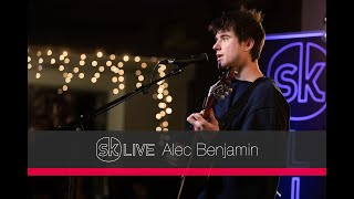 Alec Benjamin - Let Me Down Slowly [Songkick Live]