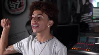 14-Year-Old Brooklyn Artist JI Freestyles For DJ Enuff
