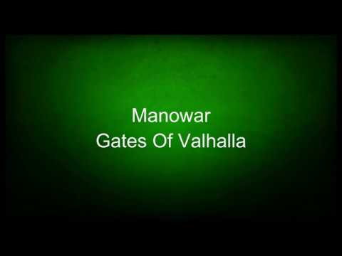Manowar - Gates Of Valhalla (lyrics)