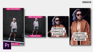 Create Instagram Stories   Adobe Premiere Pro Tutorial