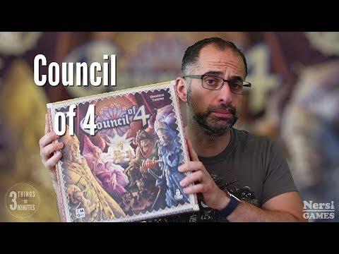 3 Things in 3 Minutes: Council of 4 Review