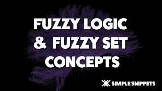 Fuzzy Logic Tutorials   Introduction to Fuzzy Logic, Fuzzy Sets & Fuzzy Set Operations