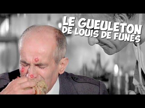 Le gueuleton de Louis de Funès !