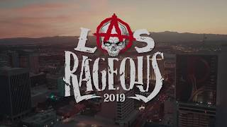 3rd Annual LAS RAGEOUS Music Festival Returns To The Downtown Las Vegas Events Center Friday, Octobe
