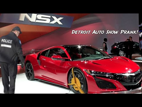Guy Pranks Car Industry Officials At Detroit Telling Them Someone