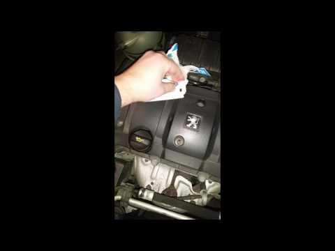 Peugeot 206 Birne wechseln Scheinwerfer