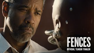 Fences Teaser Trailer 2016  Paramount Pictures