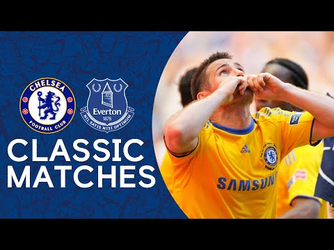 Chelsea 2-1 Everton | Lampard Strike Seals Victory | FA Cup Final | Classic Highlights