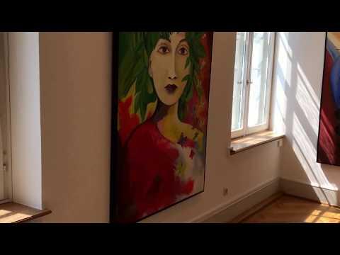 Nicola Quici neuer Futurismus, Explosionen der Farben und Formen, Stadtgelerie
