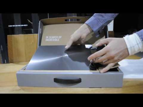 Asus Zenbook UX430UA unboxing