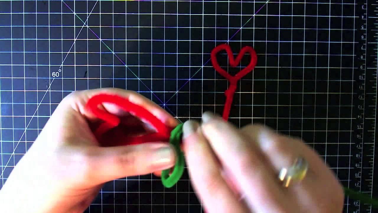DIY: Flor de corazones - regalo San Valentin