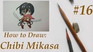 Смотреть онлайн Как поэтапно нарисовать чиби человека карандашом