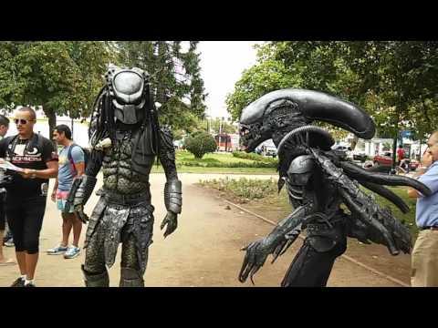 Alien vs Depredador en viña del mar