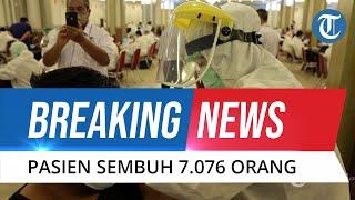 BREAKING NEWS: Update Covid-19 Indonesia 18 September 2021: Pasien Sembuh Bertambah 7.076 Orang