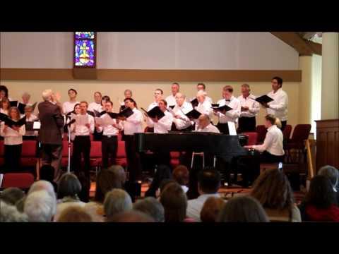 Justice accompanies a choir