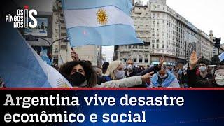 Lockdown e socialismo, a combinação que destruiu a Argentina