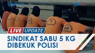 TRIBUNNEWS LIVE UPDATE: 9 Orang Sindikat Sabu 5 Kg Dibekuk Polisi di Bogor