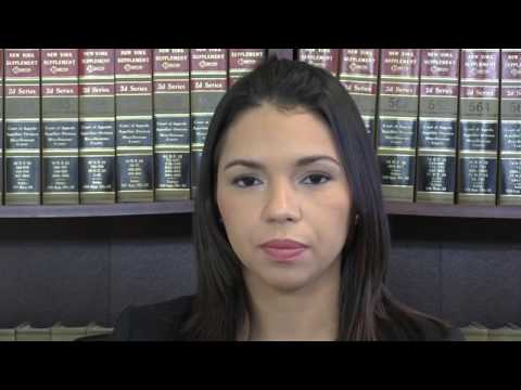 Temporary Restraining Order in New York - Video