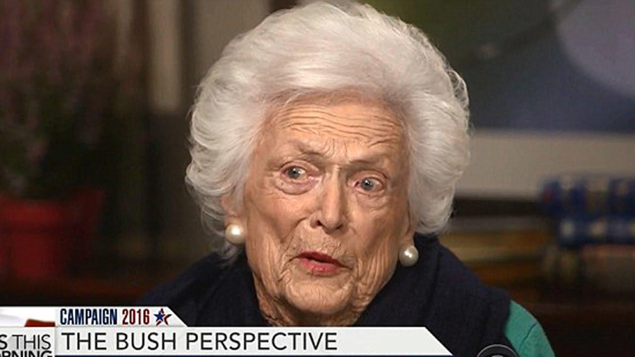 Barbara Bush Attacks Trump thumbnail