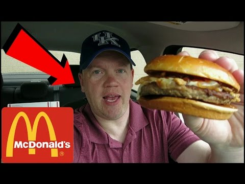 Reed Reviews McDonald's Signature Crafted Sweet BBQ Bacon Burger