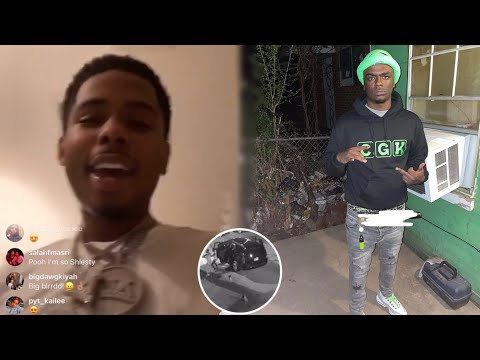 Pooh Shiesty Clowns EBG Jizzle Allegedly Getting 🔫 & Paralyzed After Making D!ss Song!?