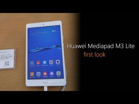 Huawei Mediapad M3 Lite: First Look | Hands on | Launch
