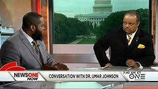 Roland Martin Goes One-On-One With Dr. Umar Johnson | Kholo.pk