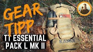 GÜNSTIGER RUCKSACK für EDC, Wandern und Bushcraft: Tasmanian Tiger Essential Pack L MKII - Gear Tipp