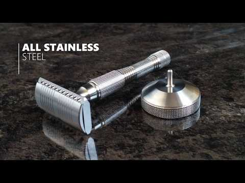 "Stainless Steel Razor ""Apollo"" by Smart Helix - Promo."