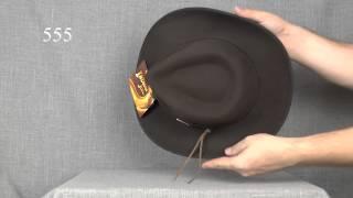 555 Шляпа фетровая Indiana Jones Outback