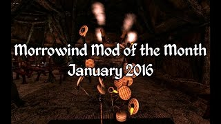 Morrowind Mod of the Month - January 2016