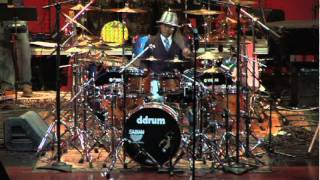 Lil Mike Mitchell - Drummers for Jesus 2007 live performance