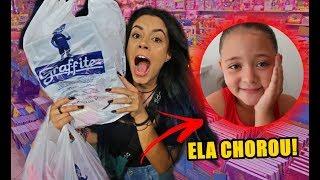 COMPREI TODO MATERIAL ESCOLAR 2019 DELA!!! * ELA CHOROU*