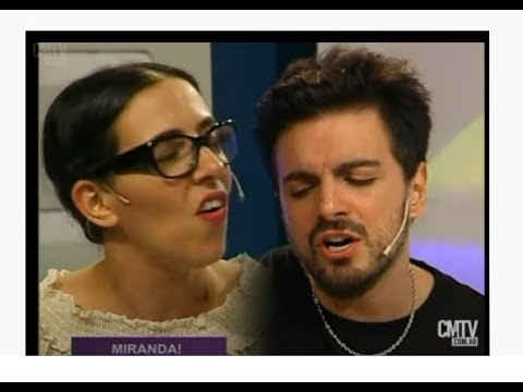 Miranda! video Entrevista + Acústico - Estudio CM - Diciembre 2015