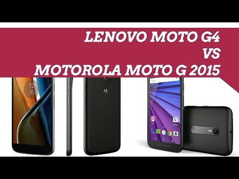 Lenovo Moto G4 vs Motorola Moto G 2015 ITA