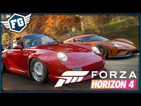 FILMOVÝ KASKADÉR - Forza Horizon 4